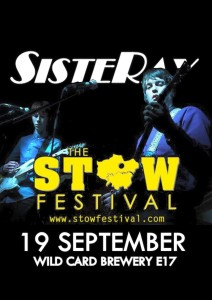 Sisteray Stow Festival poster