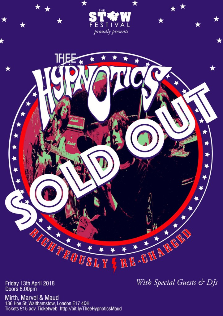 Thee Hypnotics SOLD OUT